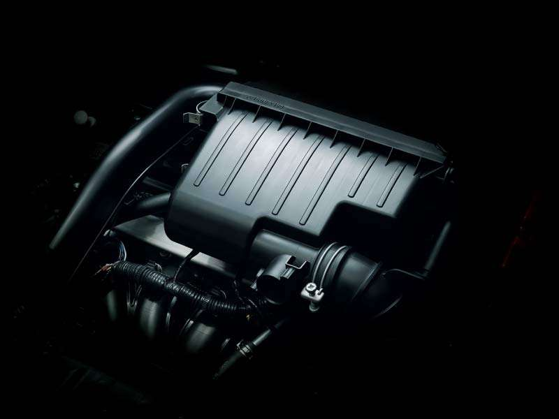 1.2 Liter Efficient Engine with MIVEC