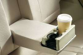 2nd Row Seat Center Armrest with Cup-holder
