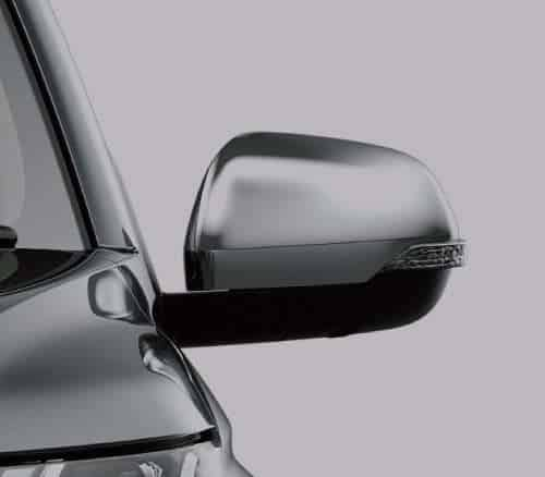 Chrome Power Door Mirrors