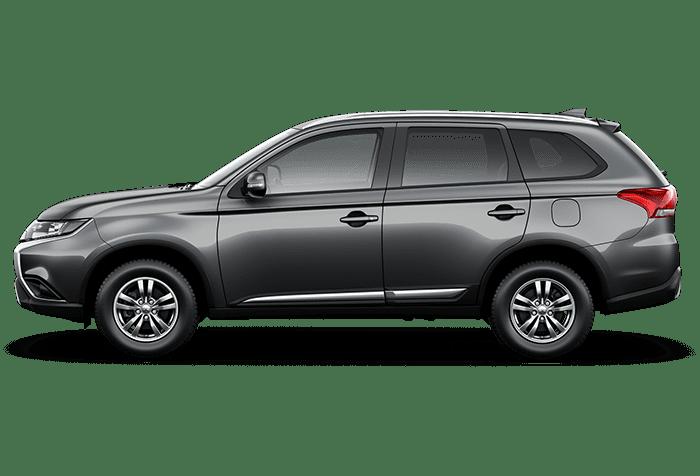 Outlander Titanium Gray Metallic Brand New Car Mitsubishi Bangladesh