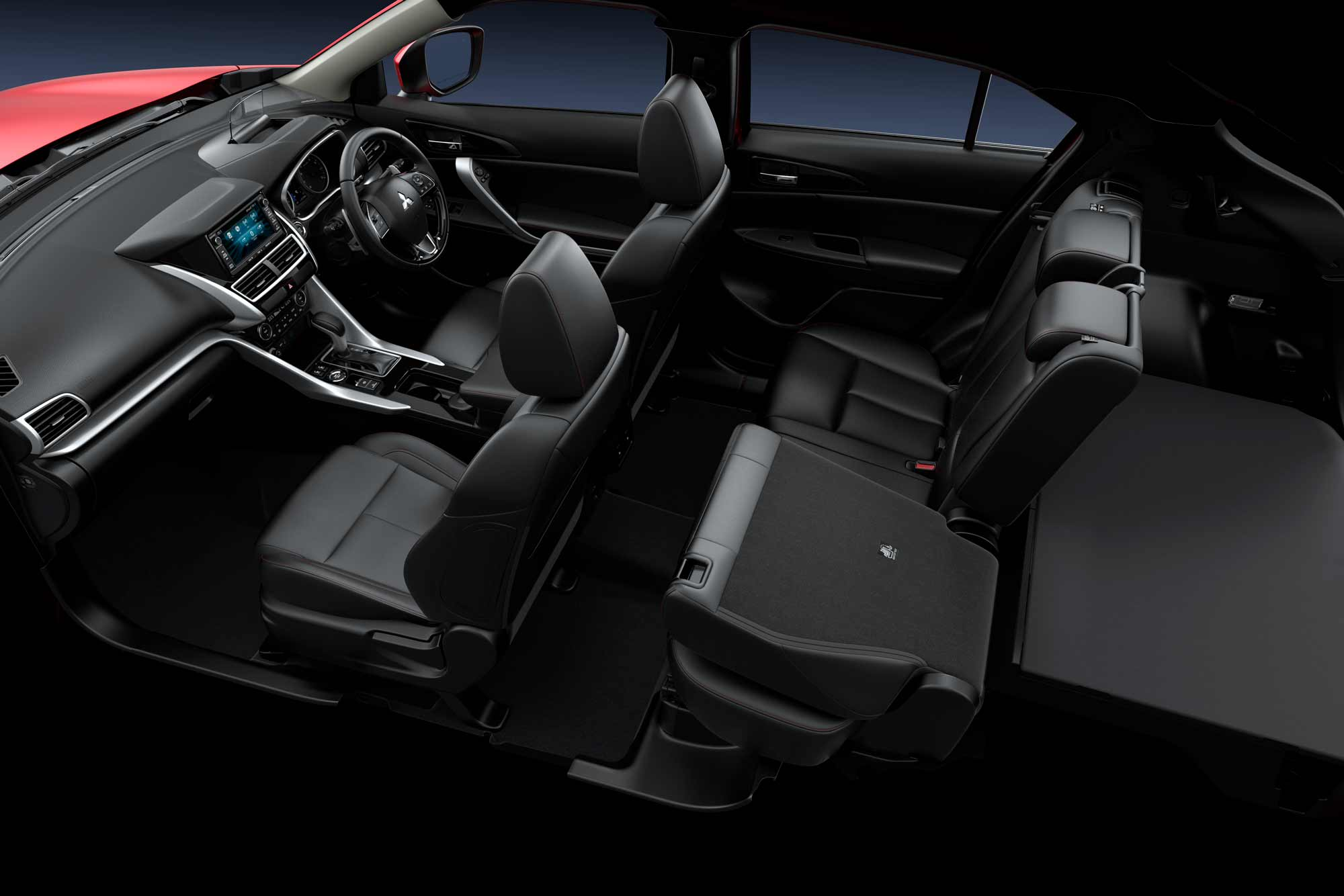 Adjustable Rear Seats