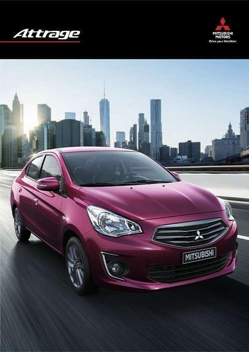 attrage catalog Brand New Car Mitsubishi Bangladesh