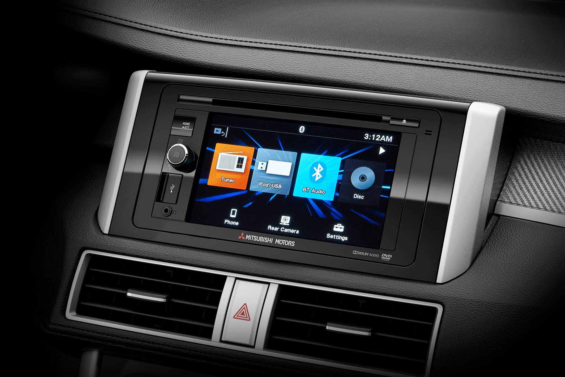 DVD and Bluetooth Entertainment
